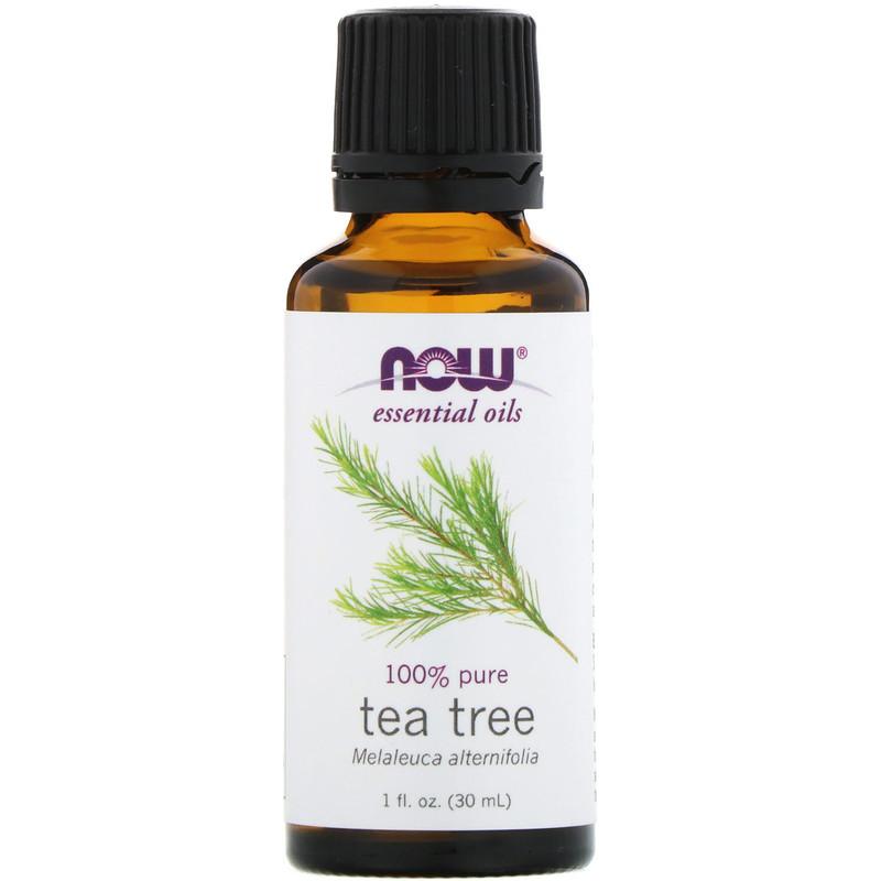 Масло чайного дерева Now Foods, 1 жидкая унция (30 мл)