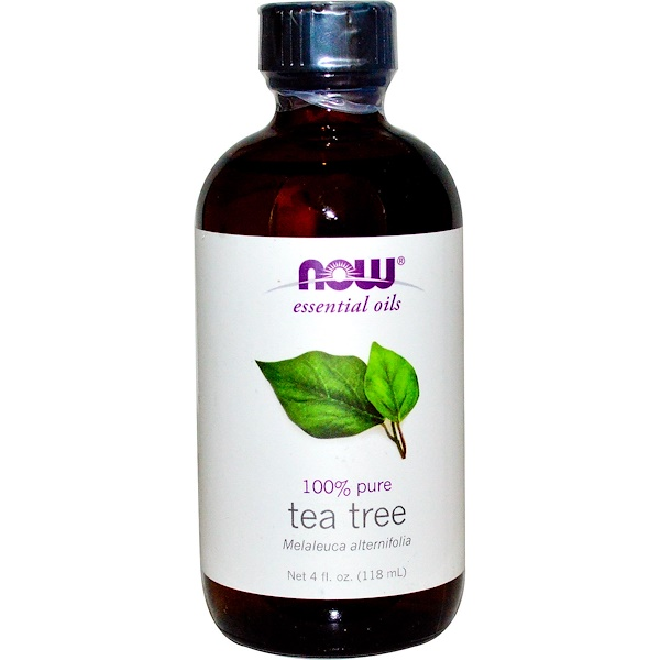 Now Foods, Essential Oils, Tea Tree, 4 fl oz (118 ml) (Discontinued Item)