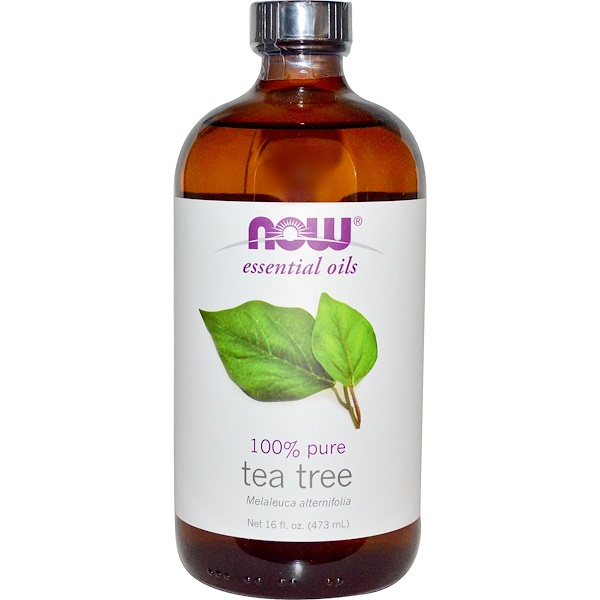 Now Foods, Essential Oils, Tea Tree, 16 fl oz (473 ml) (Discontinued Item)