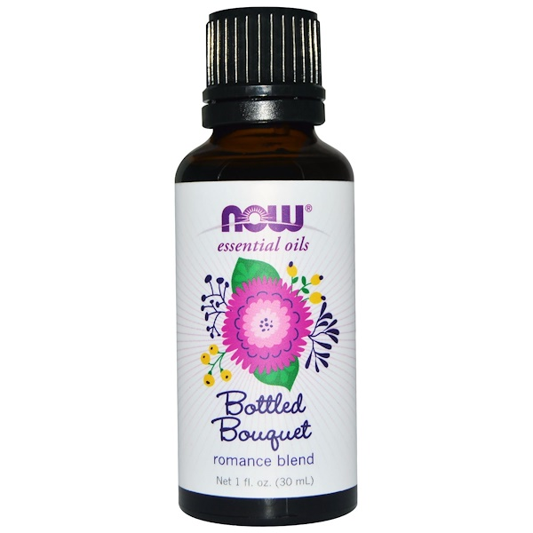 Now Foods, Essential Oils, Bottled Bouquet, Romance Blend, 1 fl oz (30 ml)