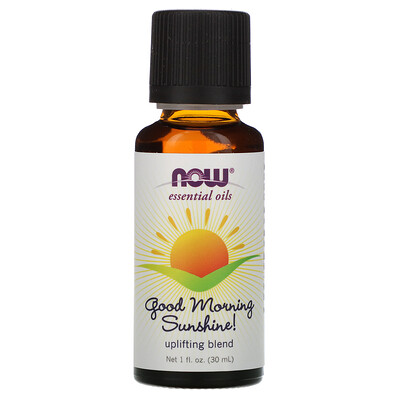 Now Foods Эфирные масла Good Morning Sunshine, композиция для повышения настроения, 30 ml