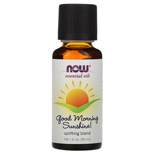 Now Foods, Essential Oils, Good Morning Sunshine, Uplifting Blend, 1 fl oz (30 ml)