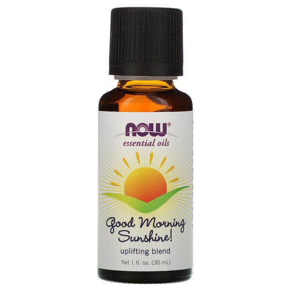 Now Foods, Essential Oils, Good Morning Sunshine, Uplifting Blend, 1 fl oz (30 ml)