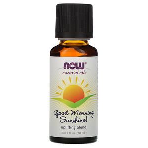 Now Foods, Essential Oils, Good Morning Sunshine, Uplifting Blend, 1 fl oz (30 ml) отзывы