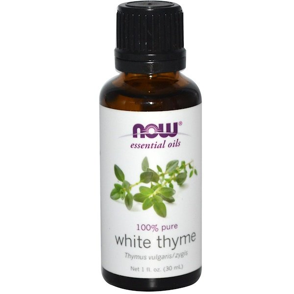 Now Foods, Essential Oils, White Thyme, 1 fl oz (30 ml) (Discontinued Item)