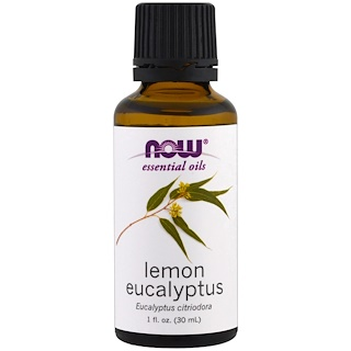 Now Foods, Essential Oils, Lemon Eucalyptus, 1 fl oz (30 ml)
