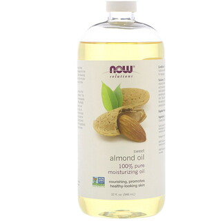 Now Foods, Solutions, Sweet Almond Oil, 32 fl oz (946 ml)