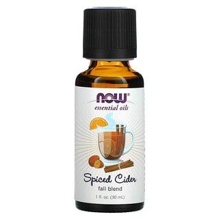 Now Foods, Essential Oils, Spiced Cider, 1 fl oz (30 ml)