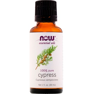 Now Foods, Essential Oils, Cypress, 1 fl oz (30 ml)