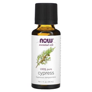 Now Foods, Essential Oils, Cypress, 1 fl oz (30 ml)