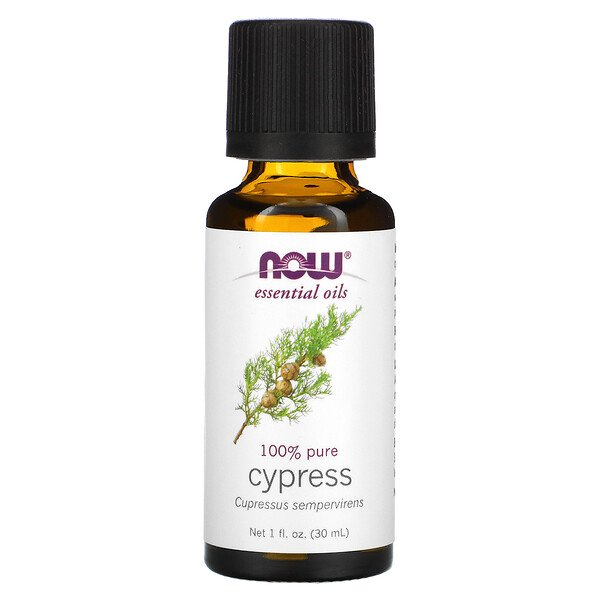 Essential Oils, Cypress, 1 fl oz (30 ml)