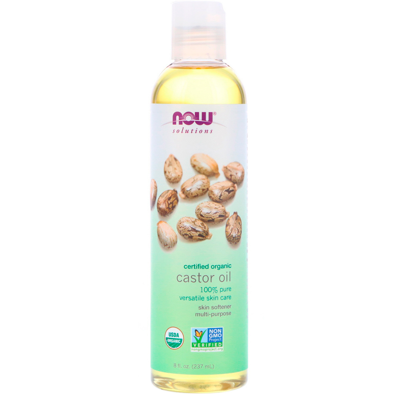 100% Pure Versatile Skin Care Castor Oil - 4 fl. oz. by NOW Foods (pack of 6) Nip + Fab Bee Sting Fix Lifting Mask - 50 ml / 1.7 Fl oz