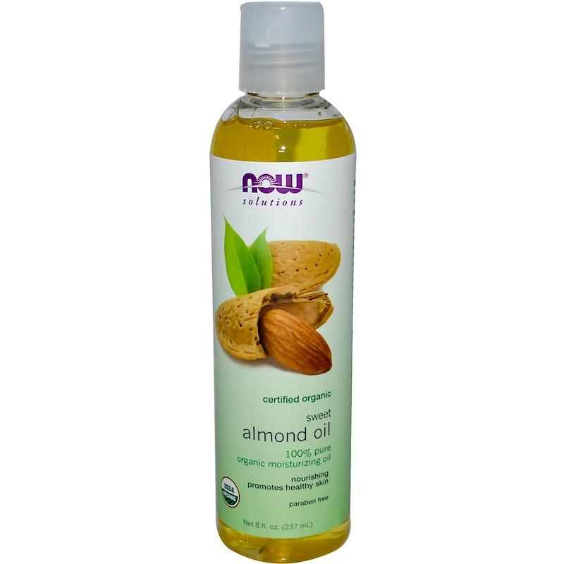 Solutions, Organic Sweet Almond Oil, 8 fl oz (237 ml)