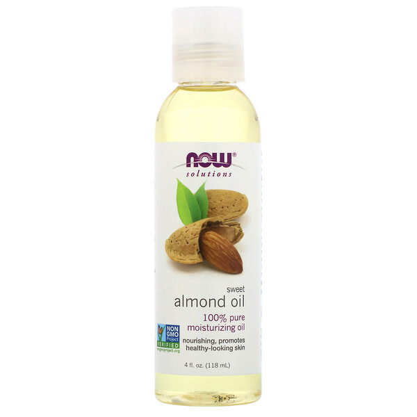 Solutions, Sweet Almond Oil, 4 fl oz (118 ml)