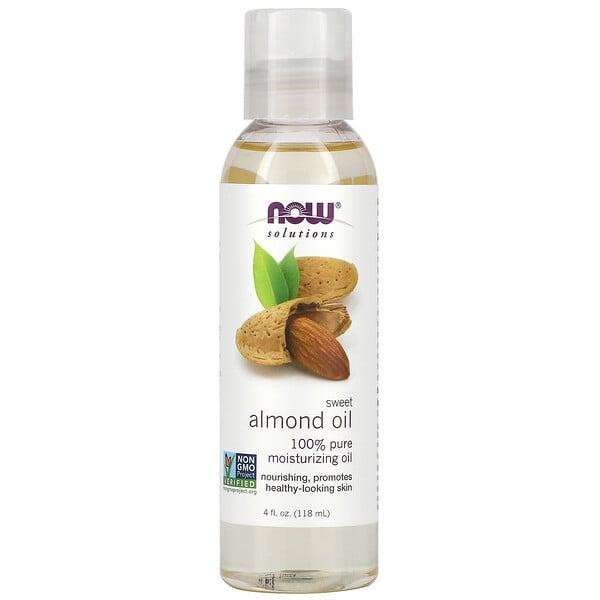 Solutions, Sweet Almond Oil, 4 fl oz (118 ml)
