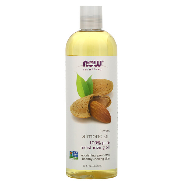 Now Foods, Solutions, 스위트 아몬드 오일, 473ml(16fl oz)