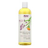 Now Foods, Solutions, Aceite para Masaje de Lavanda Almendra, 16 fl oz (473 ml)