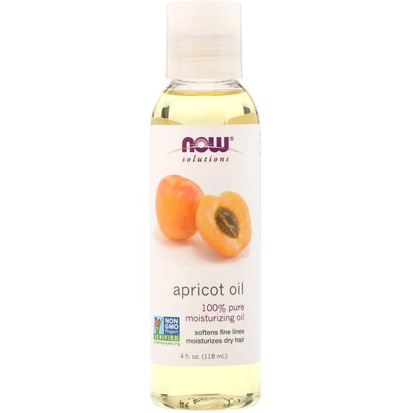 Solutions, Apricot Oil, 4 fl oz (118 ml)
