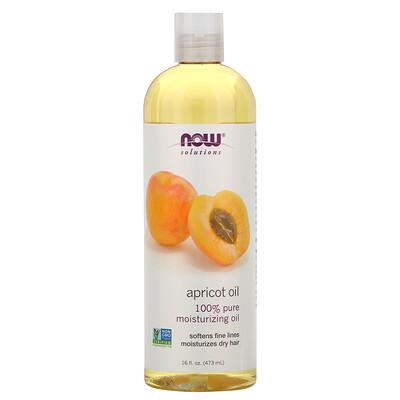 Купить Now Foods Solutions, Apricot Oil, 16 жидких унций (473 мл)
