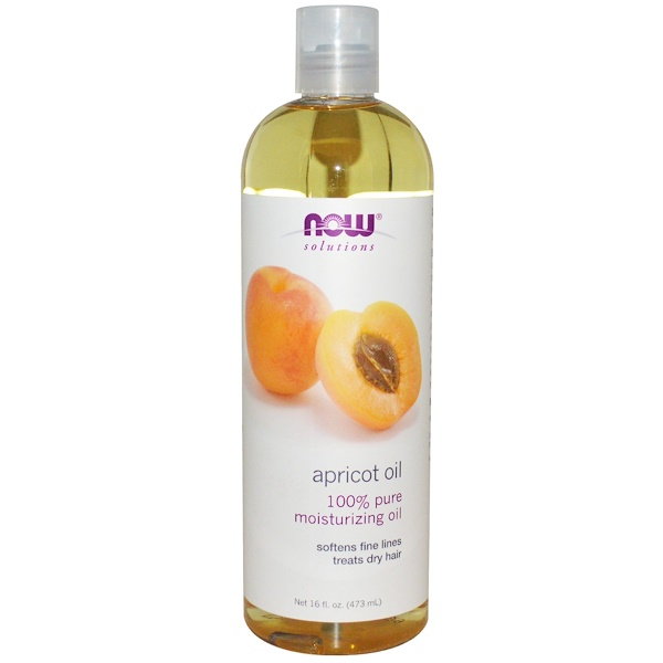 Now Foods, Solutions, Apricot Oil, 16 жидких унций (473 мл)