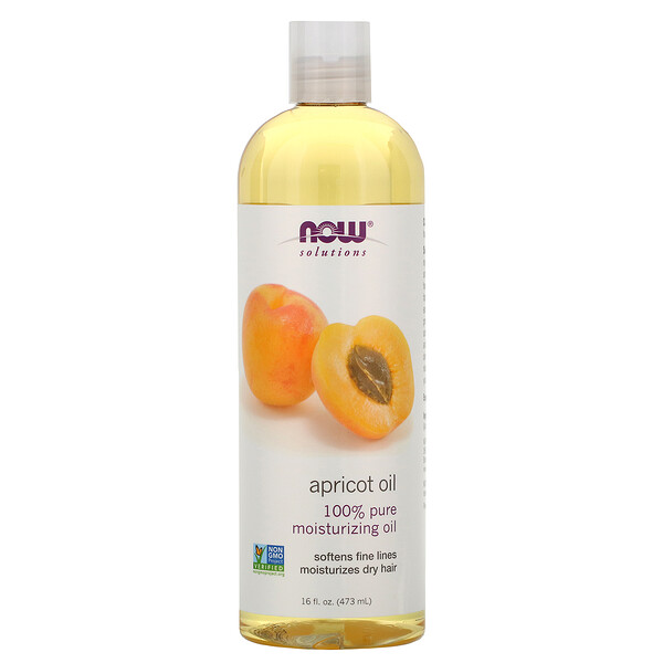 Now Foods, Solutions, Aceite de Albaricoque, 16 fl oz (473 ml)