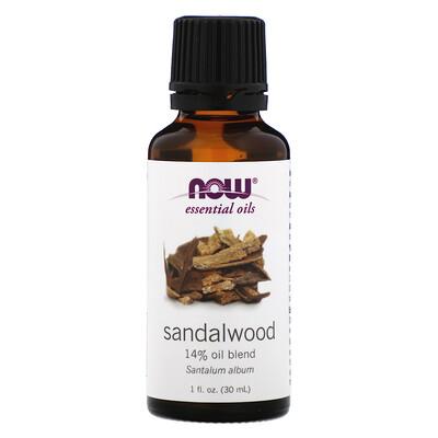 Эфирные масла, Сандаловое дерево, 1 жидкая унция (30 мл)