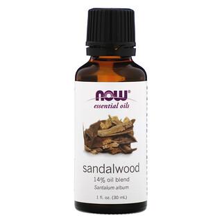 Now Foods, Aceites Esenciales, Sándalo, 1 fl oz (30 ml)