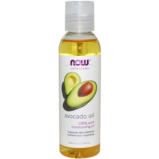 Now Foods, Solutions, Avocado Oil, 4 fl oz (118 ml)