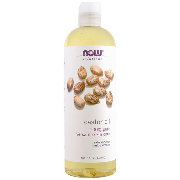 Now Foods, Solutions, Castor Oil, 16 fl oz (473 ml)