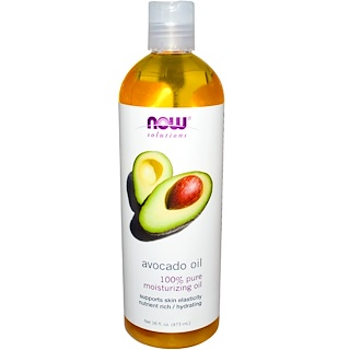 Now Foods, Solutions, Aceite de aguacate, 16 fl oz (473 ml)