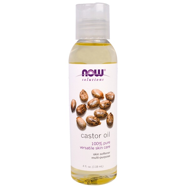 Solutions, Castor Oil, 4 fl oz (118 ml)