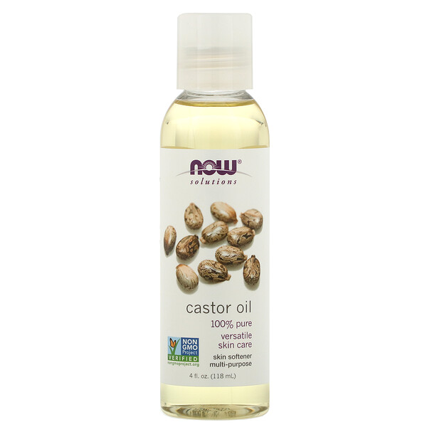 Now Foods, Solutions, Castor Oil, 4 fl oz (118 ml)