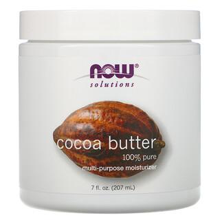Now Foods, Soluciones, Manteca de Cacao, 7 fl oz (207 ml)