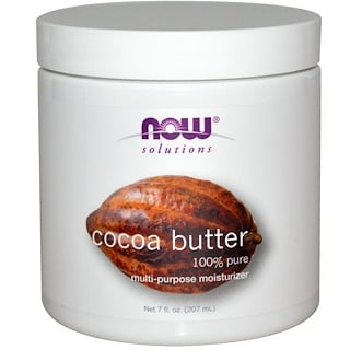 Now Foods, Solutions, Cocoa Butter, 7 fl oz (207 ml)