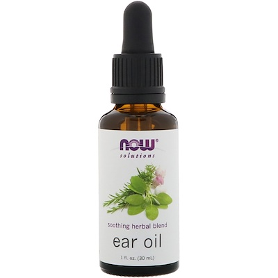 Ear Oil, 1 fl oz (30 ml) oregano spirits 1 fl oz 30 ml