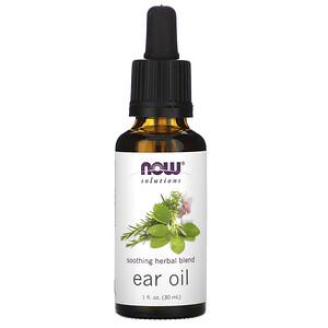 Now Foods, Ear Oil, 1 fl oz (30 ml) отзывы покупателей