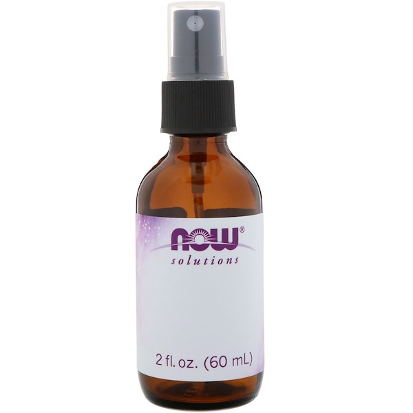 Now Foods, Empty 2 fl oz Amber Glass Bottle + Spray Lid, 1 - 2 fl oz (60 ml) Bottle (Discontinued Item)