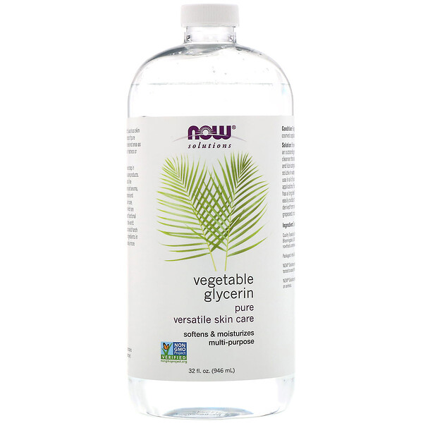 Now Foods, Solutions, Vegetable Glycerin, 32 fl oz (946 ml)