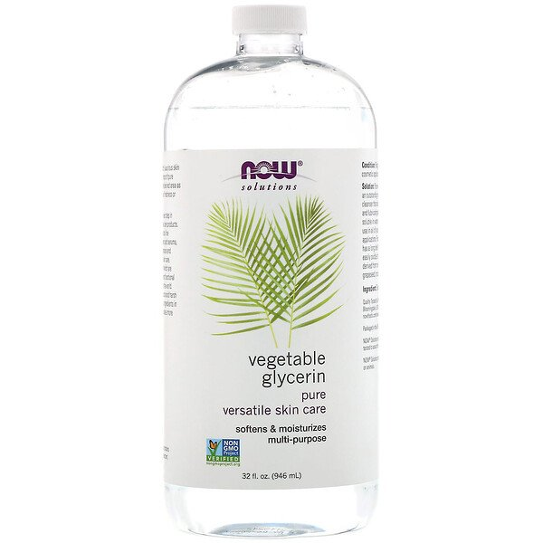 Solutions, Vegetable Glycerin, 32 fl oz (946 ml)