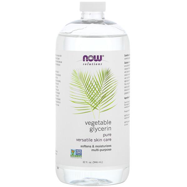 Solutions, Vegetable Glycerin, 32 fl oz (946 ml)