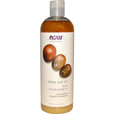 Solutions, масло орехов ши, чистое увлажняющее масло, 473 мл (16 жидких унций) масло эму 2 жидких унций 60 мл