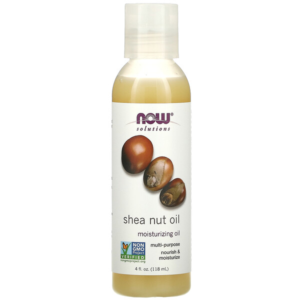 Solutions, Shea Nut Oil, 4 oz (118 ml)