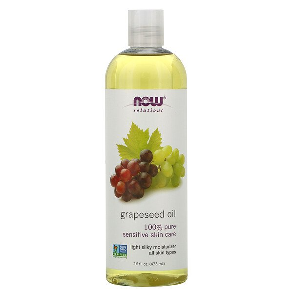 Solutions, Grapeseed Oil, 16 fl oz (473 ml)