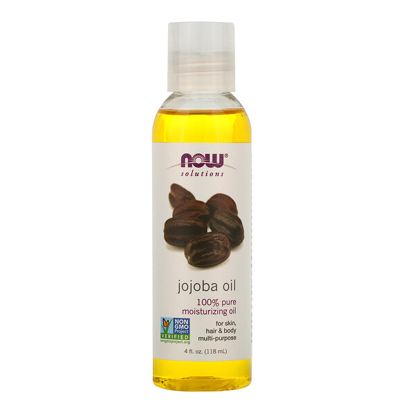 Solutions, Jojoba Oil, 4 fl oz (118 ml)