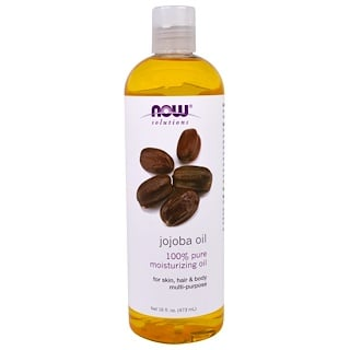 Now Foods, Solutions, Aceite de jojoba, 16 fl oz (473 ml)