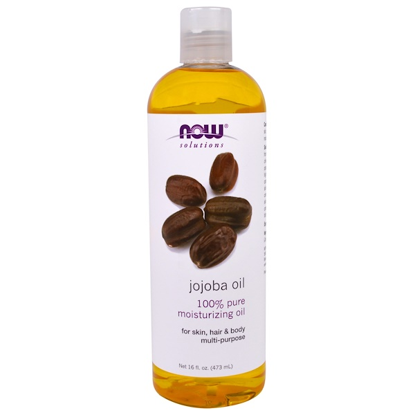 Now Foods, Solutions, Jojoba Oil, 16 fl oz (473 ml)