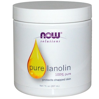 Now Foods, Soluciones, Lanolina pura, 7 fl oz (207 ml)