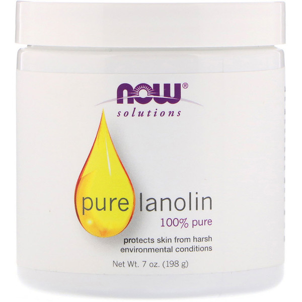 Solutions, Pure Lanolin, 7 oz (198 g)