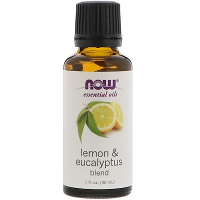 Essential Oils, Lemon & Eucalyptus Blend, 1 fl oz (30 ml)