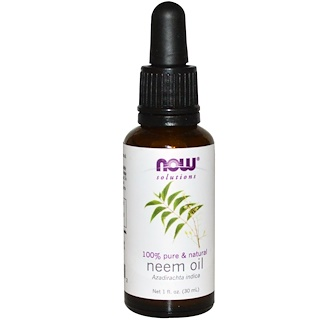 Now Foods, Solutions, Aceite de Neem, 1 fl oz (30 ml)